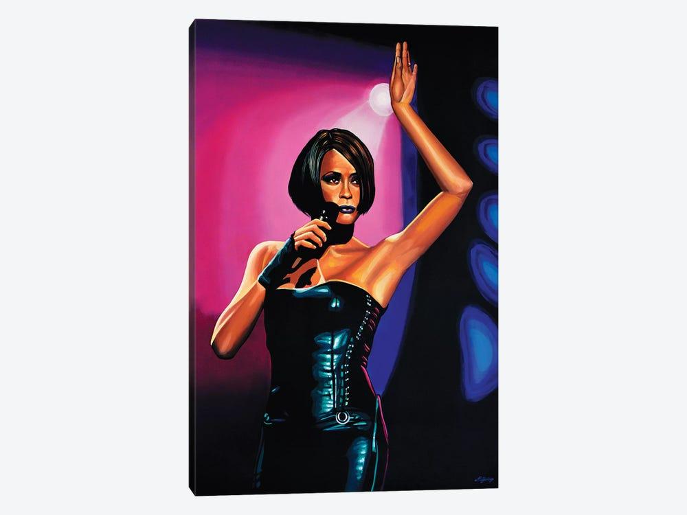 Whitney Houston II by Paul Meijering 1-piece Canvas Artwork