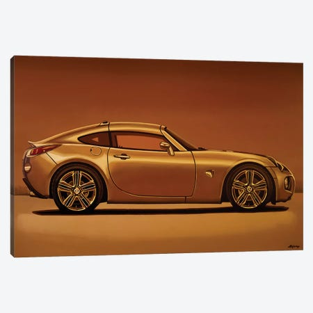 Pontiac Solstice Coupe 2009 3-Piece Canvas #PME164} by Paul Meijering Canvas Print
