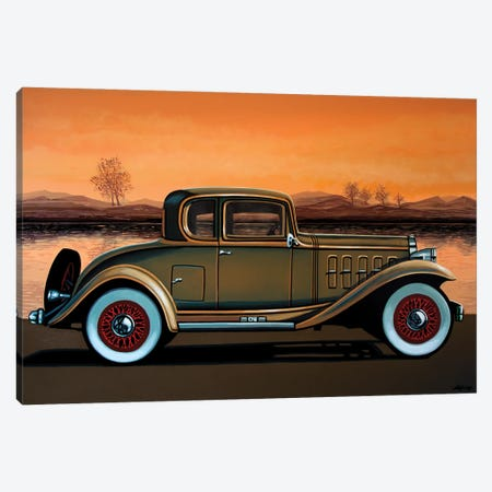 Buick 96 S Coupe 1932 Canvas Print #PME168} by Paul Meijering Canvas Artwork