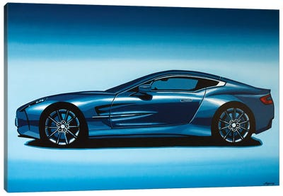 Aston Martin One 77 2009 Canvas Art Print