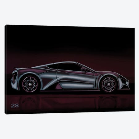 Zenvo ST 1 2009 Canvas Print #PME171} by Paul Meijering Canvas Art Print