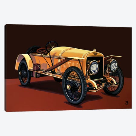 Hispano Suiza T15 Alfonso XIII 1912 3-Piece Canvas #PME172} by Paul Meijering Art Print