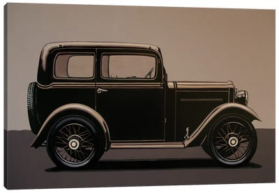 Morris Minor Saloon 1928 Canvas Art Print