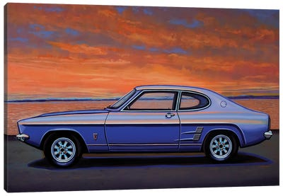 Ford Capri 1969 Canvas Art Print