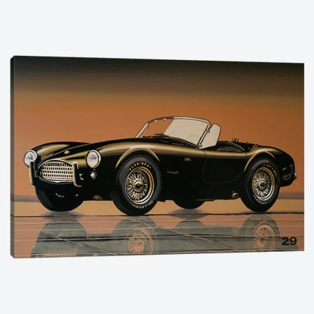 Shelby Cobra 1962 Canvas Print #PME176} by Paul Meijering Canvas Artwork
