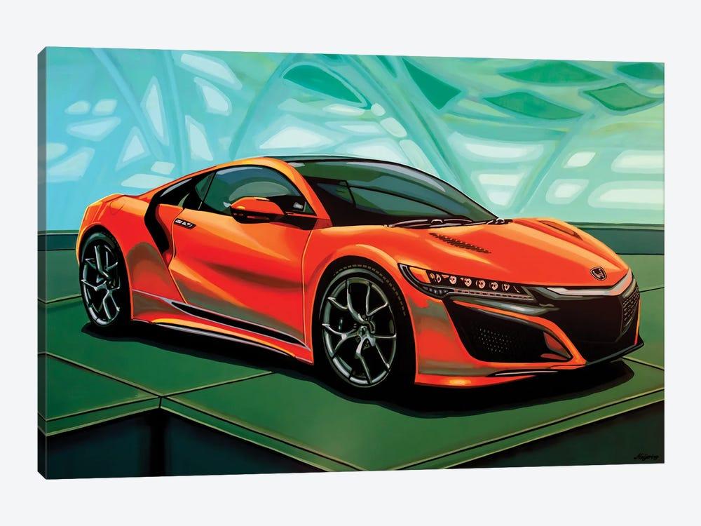 Honda Acura NSX 2016 by Paul Meijering 1-piece Canvas Artwork