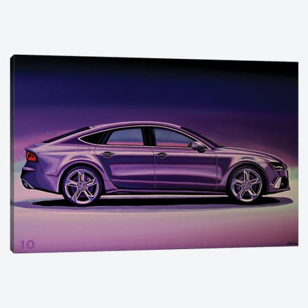 Audi RS7 2013 3-Piece Canvas #PME182} by Paul Meijering Canvas Art