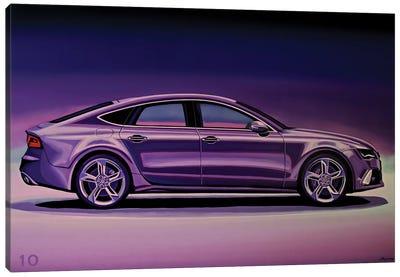 Audi RS7 2013 Canvas Art Print