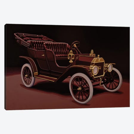 Ford Model T Touring 1908 Canvas Print #PME183} by Paul Meijering Canvas Art