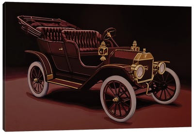 Ford Model T Touring 1908 Canvas Art Print