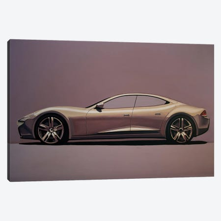 Fisker Karma 2012 Canvas Print #PME187} by Paul Meijering Canvas Print