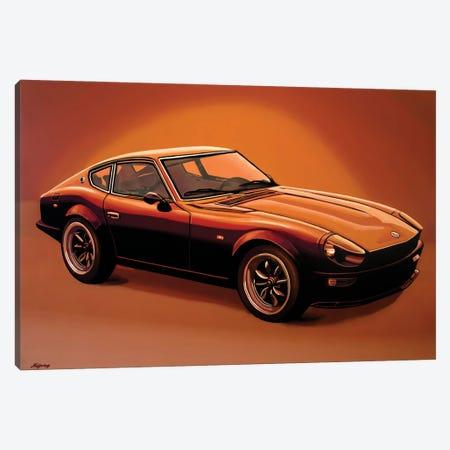 Datsun 240Z 1970 Canvas Print #PME188} by Paul Meijering Canvas Artwork