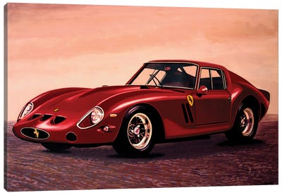 Ferrari 250 GTO 1962 Canvas Art Print