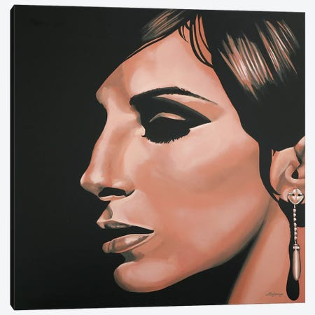 Barbra Streisand I 3-Piece Canvas #PME18} by Paul Meijering Canvas Wall Art