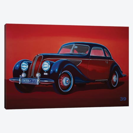 EMW BMW 1951 Canvas Print #PME191} by Paul Meijering Canvas Print