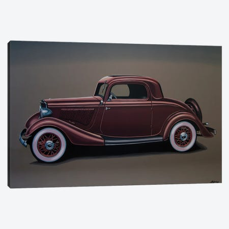 Ford 3 Window Coupe 1933 Canvas Print #PME193} by Paul Meijering Canvas Print