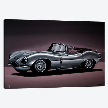 Jaguar XKSS 1957 Canvas Print #PME196} by Paul Meijering Canvas Art