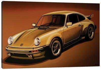 Porsche 911 Turbo 1976 Canvas Art Print