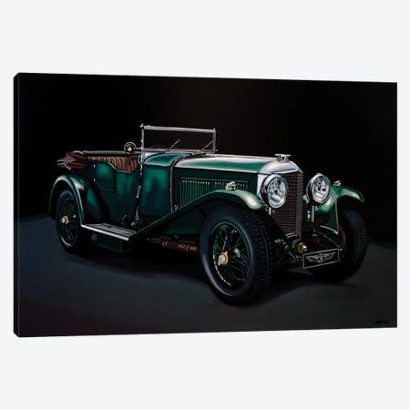 Bentley Open Tourer 1929 Canvas Print #PME200} by Paul Meijering Canvas Print