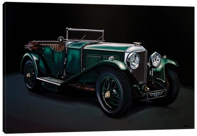 Bentley Open Tourer 1929 Canvas Art Print