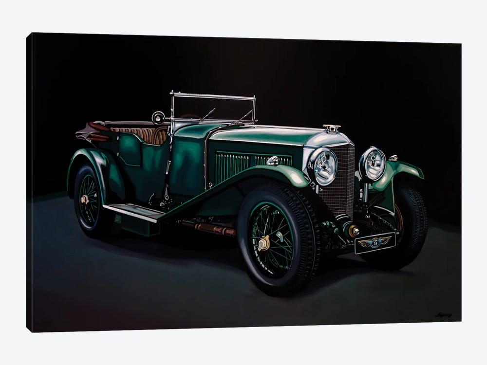 Bentley Open Tourer 1929 by Paul Meijering 1-piece Canvas Art
