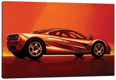 McLaren F1 1994 Canvas Art Print