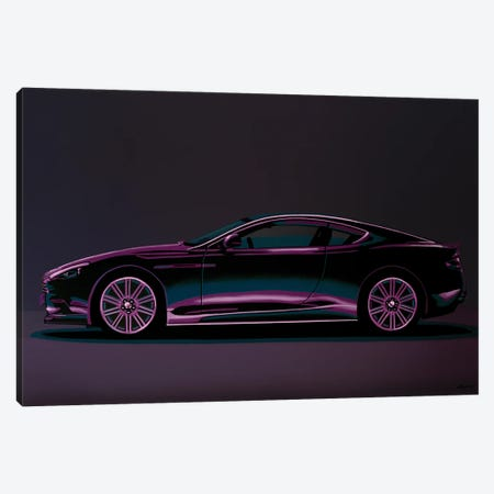 Aston Martin DBS V12 2007 3-Piece Canvas #PME207} by Paul Meijering Canvas Artwork