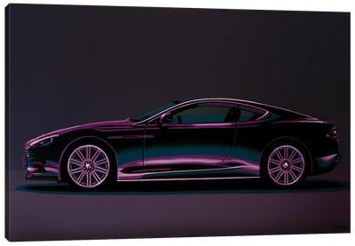 Aston Martin DBS V12 2007 Canvas Art Print