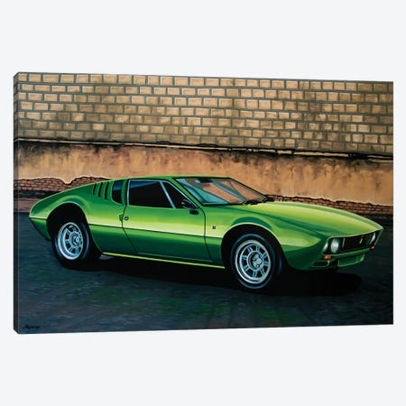 Tomaso Mangusta 1967 Canvas Print #PME208} by Paul Meijering Canvas Art Print