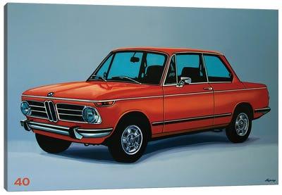 BMW 2002 1968 Canvas Art Print
