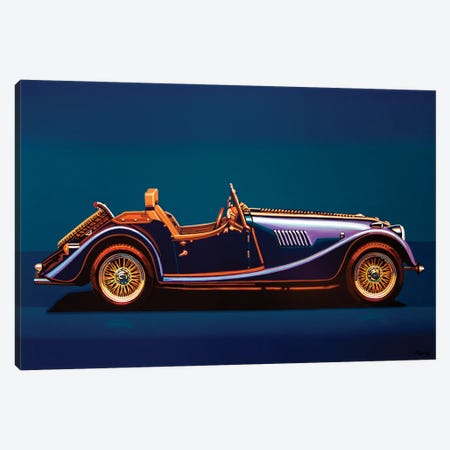 Morgan Roadster 2004 Canvas Print #PME211} by Paul Meijering Canvas Wall Art
