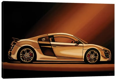 Audi R8 2007 Canvas Art Print
