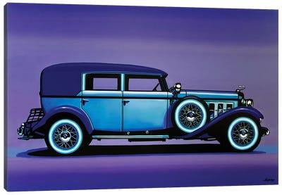 Cadillac V16 1930 Canvas Art Print