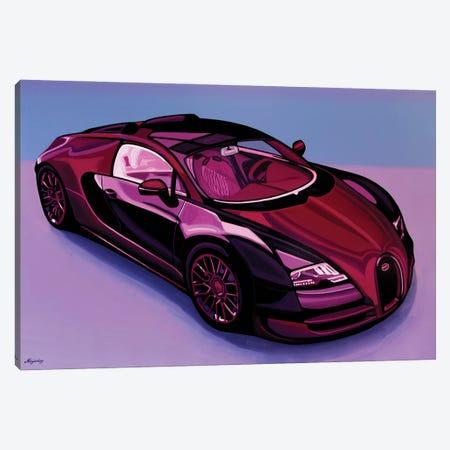 Bugatti Veyron 2005 3-Piece Canvas #PME215} by Paul Meijering Canvas Print