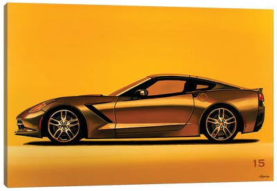 Chevrolet Corvette Stingray 2013 Canvas Art Print
