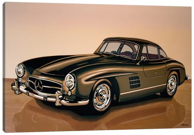 Mercedes Benz 300 SL 1954 Canvas Art Print