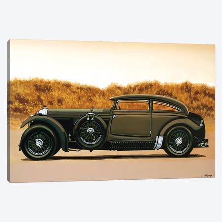 Bentley Blue Train Recreation Canvas Print #PME21} by Paul Meijering Canvas Art Print