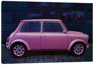 Austin Mini Cooper 1964 Canvas Art Print