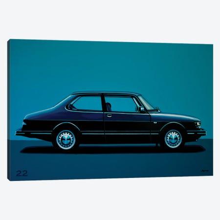 Saab 90 1985 Canvas Print #PME225} by Paul Meijering Canvas Wall Art