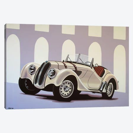 BMW 328 Roadster 1936 Canvas Print #PME25} by Paul Meijering Canvas Artwork