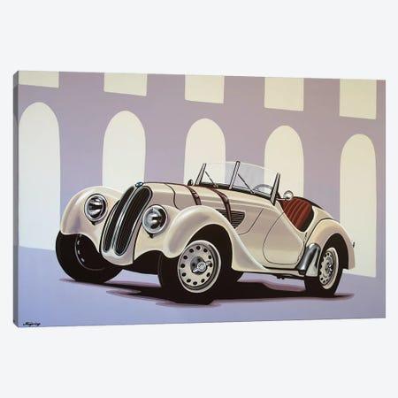 BMW 328 Roadster 1936 Canvas Print #PME25} by Paul Meijering Canvas Artwork