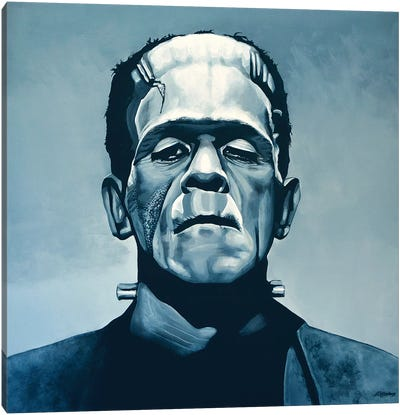 Boris Karloff Frankenstein Canvas Art Print