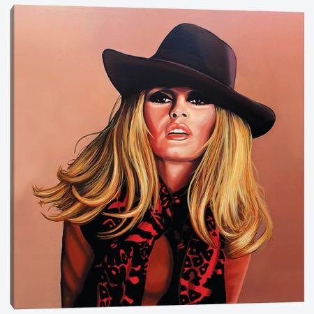 Brigitte Bardot I Canvas Print #PME28} by Paul Meijering Canvas Art Print