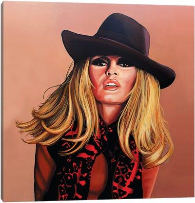 Brigitte Bardot I Canvas Art Print