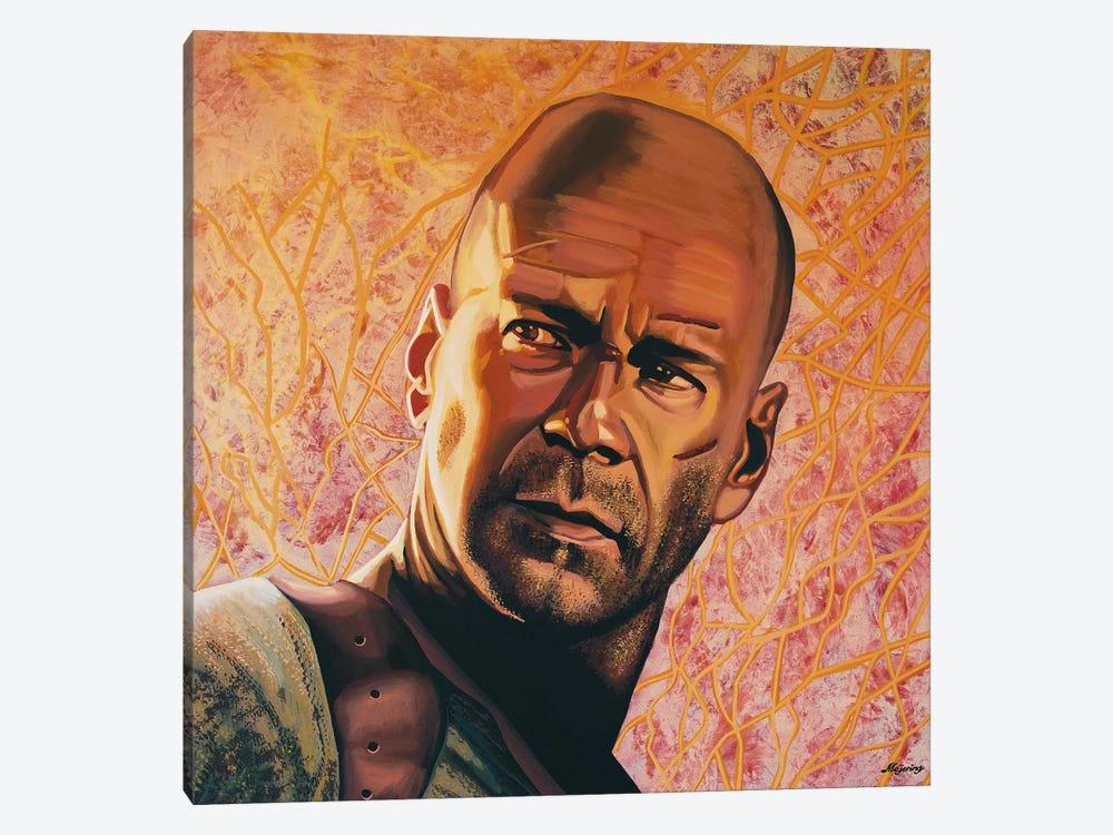 Bruce Willis by Paul Meijering 1-piece Canvas Wall Art