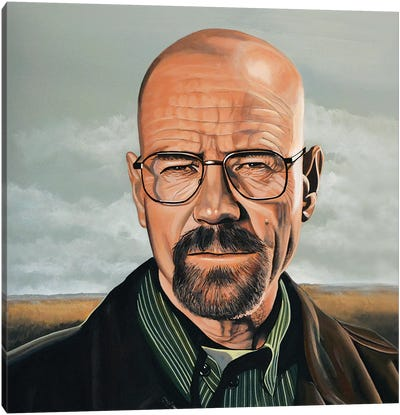 Bryan Cranston Canvas Art Print