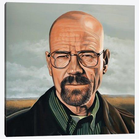 Bryan Cranston Canvas Print #PME33} by Paul Meijering Canvas Artwork