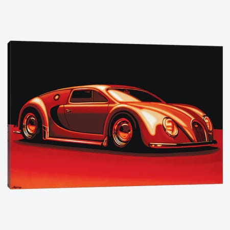 Bugatti Veyron 1945 Canvas Print #PME36} by Paul Meijering Canvas Print