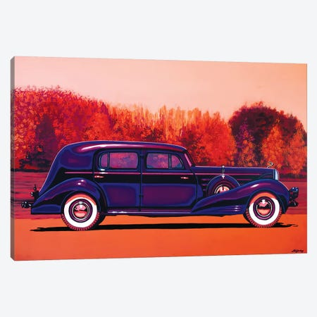 Cadillac V 16 Custom Imperial Canvas Print #PME37} by Paul Meijering Canvas Print