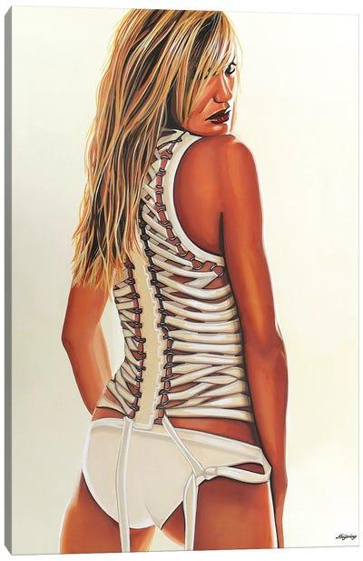 Cameron Diaz Canvas Art Print